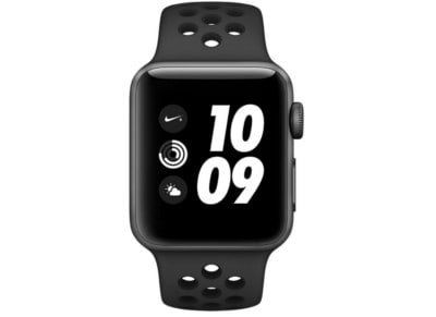 Apple Watch Nike+ Series 3 42mm Space Gray Aluminum Black Sport Band