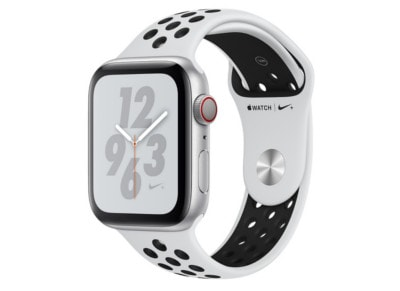 Apple Watch Nike+ Series 4 40mm Silver Aluminum Black Sport Band
