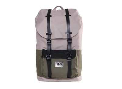 "Τσάντα Laptop 15"" Backpack 8848 111-006-015 Grey/Balsam Green"