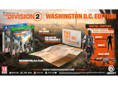 Tom Clancy's The Division 2 - Washington, D.C. Edition - PS4 Game