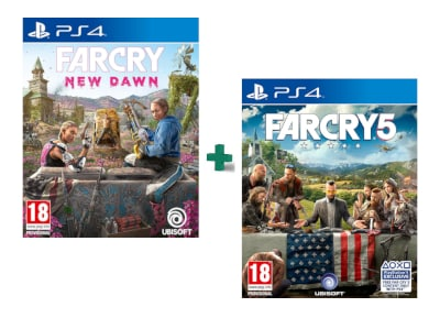 Far Cry 5 & Far Cry New Dawn - PS4 Game