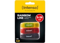 USB Stick Intenso 16GB 2.0 2+1 - Rainbow