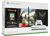 Microsoft Xbox One S White - 1TB & Tom Clancy's The Division 2