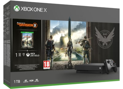 Microsoft Xbox One X 1TB & Tom Clancy's The Division 2