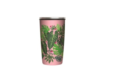 Κούπα BambooCup Pink Jungle