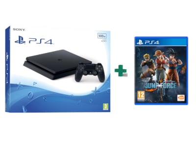 Sony PlayStation 4 - 500GB Slim D Chassis & Jump Force gaming   κονσόλες   ps4