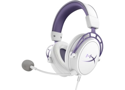 HyperX Cloud Alpha Limited Edition - Gaming Headset Λευκό/Μωβ