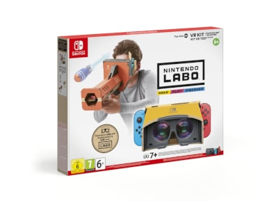 Nintendo Labo VR Starter Kit + Blaster - Nintendo Switch Game