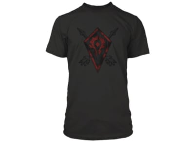 T-Shirt Jinx WOW Horde Coat of Arms Μαύρο - XL