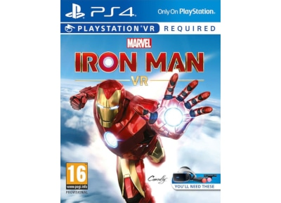 PS4/PSVR Used Game: Marvel's Iron Man