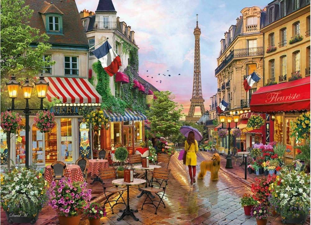 Παζλ Flowers In Paris 1000 Κομμάτια | Public