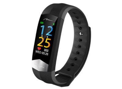 Activity Tracker Media Tech Active Band με ECG Μαύρο