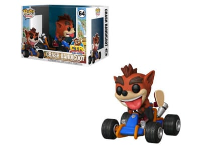 Φιγούρα Funko Pop! Videogames - Rides 64: Crash Bandicoot