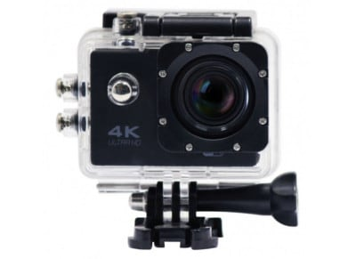 Action Camera X'Trem CUHDW5050 Ulta HD Μαύρο