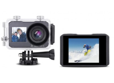 Action Cam XTrem CUHDW 4K Dual Ultra HD Μαύρη
