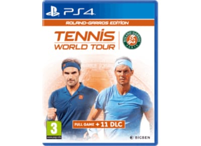 Tennis World Tour Roland Garros Edition - PS4 Game