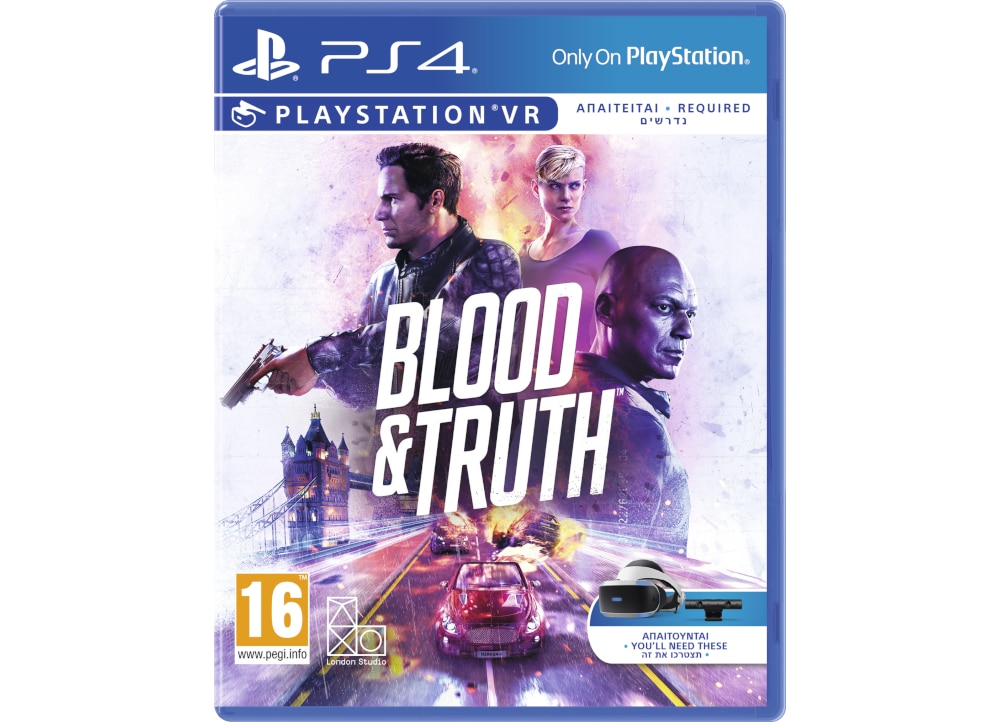 Blood & Truth - PS4/PSVR Game