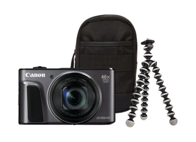 Compact Camera Canon Powershot SX740HS Travel Kit - Μαύρο
