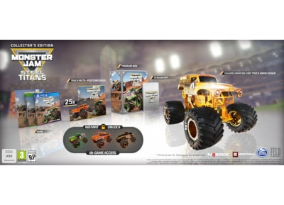 Monster Jam Steel Titans Collector's Edition - PS4 Game