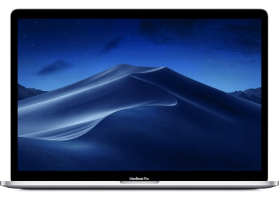"Apple MacBook Pro Retina 15.4"" (2019) (i7/16GB/256GB SSD/555Χ 4GB/Touch Bar) MV922GR/A Silver"