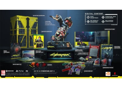 Cyberpunk 2077 - Collector's Edition - Xbox One Game