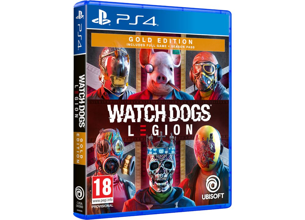 Watch Dogs Legion Gold Edition -  PS4 Game