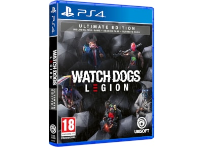 Watch Dogs Legion Ultimate Edition – PS4 Game