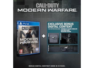 Call of Duty: Modern Warfare Special Edition - PS4 Game