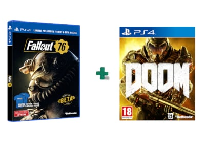Fallout 76 & DOOM - PS4 Game