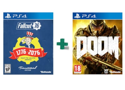 Fallout 76 Tricentennial Edition & DOOM - PS4 Game