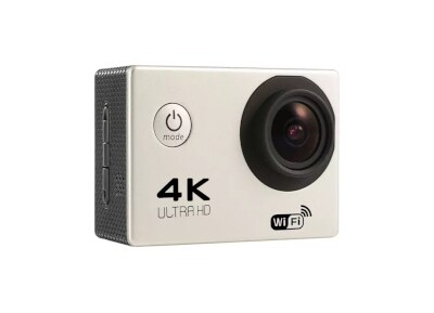 Action Camera Sport F60R Ultra HD Wi-Fi Ασημί