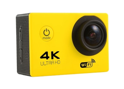 Action Camera Sport F60R Ultra HD Wi-Fi Κίτρινο