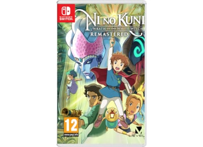 Ni No Kuni: Wrath of the White Witch Remastered – Nintendo Switch Game