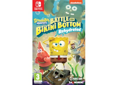 SpongeBob SquarePants: Battle for Bikini Bottom – Rehydrated – Nintendo Switch Game