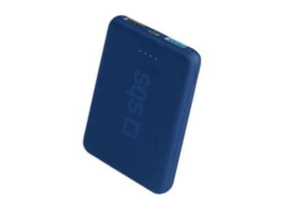 Powerbank SBS Fast Charge 5.000 mAh 2.1A (TEBB5000POCB) Μπλε