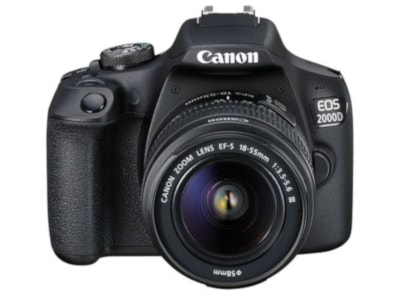 DSLR Canon EOS 2000D Kit 18-55mm DC Μαύρο