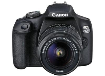 Φωτογραφική Μηχανή DSLR Canon EOS 2000D Kit 18-55mm DC Μαύρο