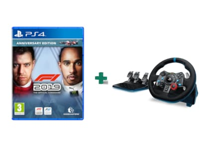 F1 2019 Anniversary Edition & Logitech G29 Driving Force