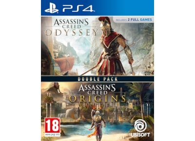 Compilation Assassin's Creed Origins & Odyssey – PS4 Game