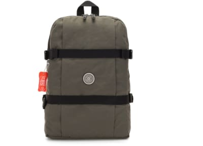 Τσάντα Πλάτης Kipling Tamiko Backpack laptop protection Cool Moss - Γκρι