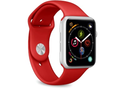 Apple Watch Band 42-44mm (Small) - Puro Κόκκινο