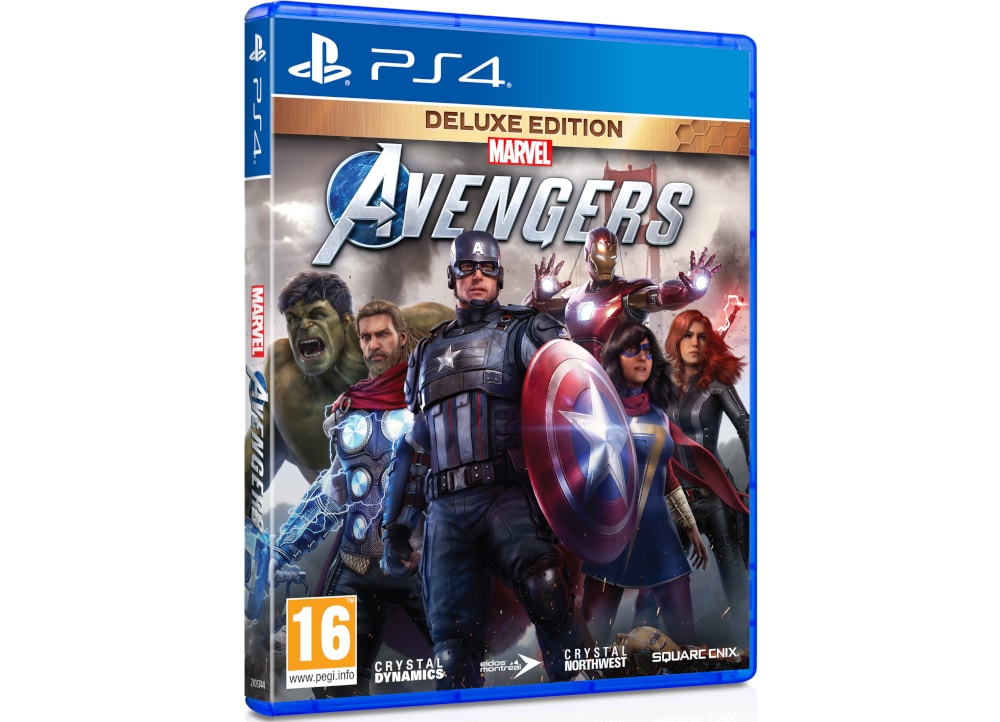 Marvel's Avengers Deluxe Edition - PS4 Game