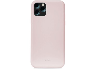 Θήκη Apple iPhone 11 - Puro ICON Silicone Cover - Ροζ