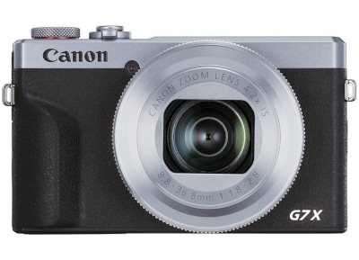 Compact Camera Canon PowerShot G7X Mark III - Ασημί