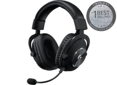 Logitech G Pro X - Wired Gaming Headset Μαύρο