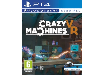 Crazy Machines VR – PS4/PSVR Game