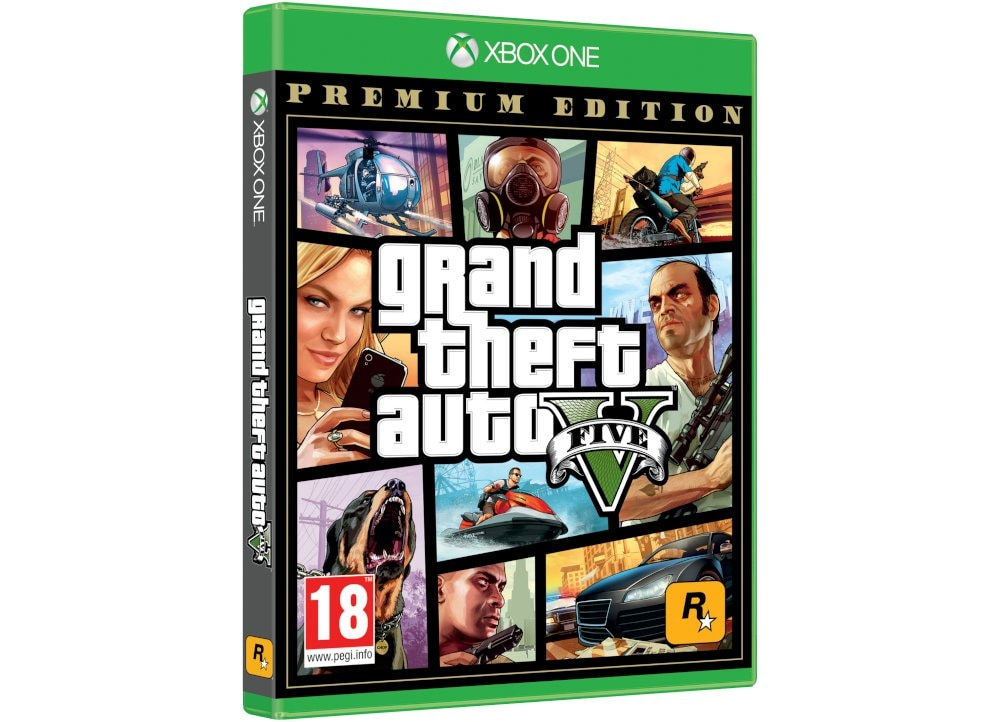 Grand Theft Auto V Premium Edition - Xbox One Game