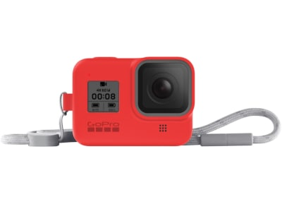 GoPro Sleeve and Lanyard - Hero8 Firecracker Red