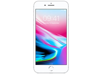 Apple iPhone 8 Plus 128GB Silver - 4G Smartphone