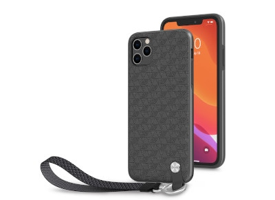Θήκη iPhone 11 Pro max - Moshi Wrist Strap Case -  Μαύρο